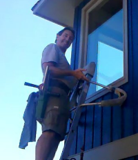 Professional Window Washer