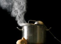 Image of Cooking Steam can cause condensation - Husser Window Cleaning