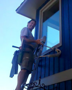 Norman Husser Cleaning Windows